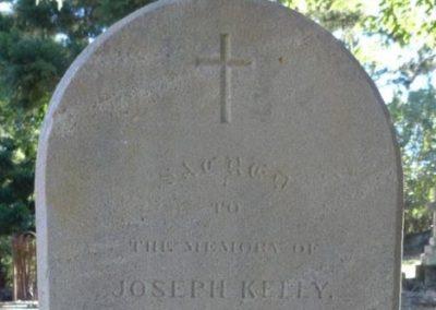 Joseph Kelly – Toowong Cemetery