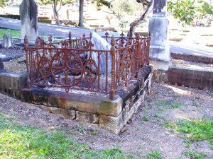 Grave of former Inspector of Detectives Thomas Slattery