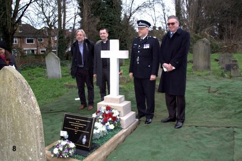 Commissioner David Seymour – Hither Green Cemetery UK