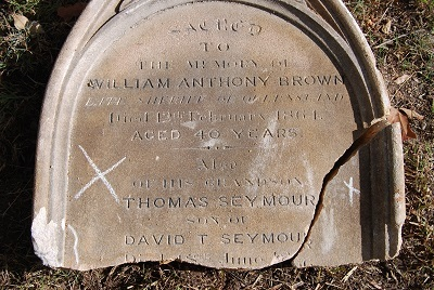 Samuel Seymour – Toowong Cemetery