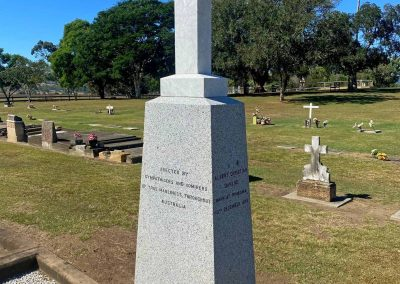 Constable George Doyle and Christian Dahlke – Tamrookum Anglican Cemetery